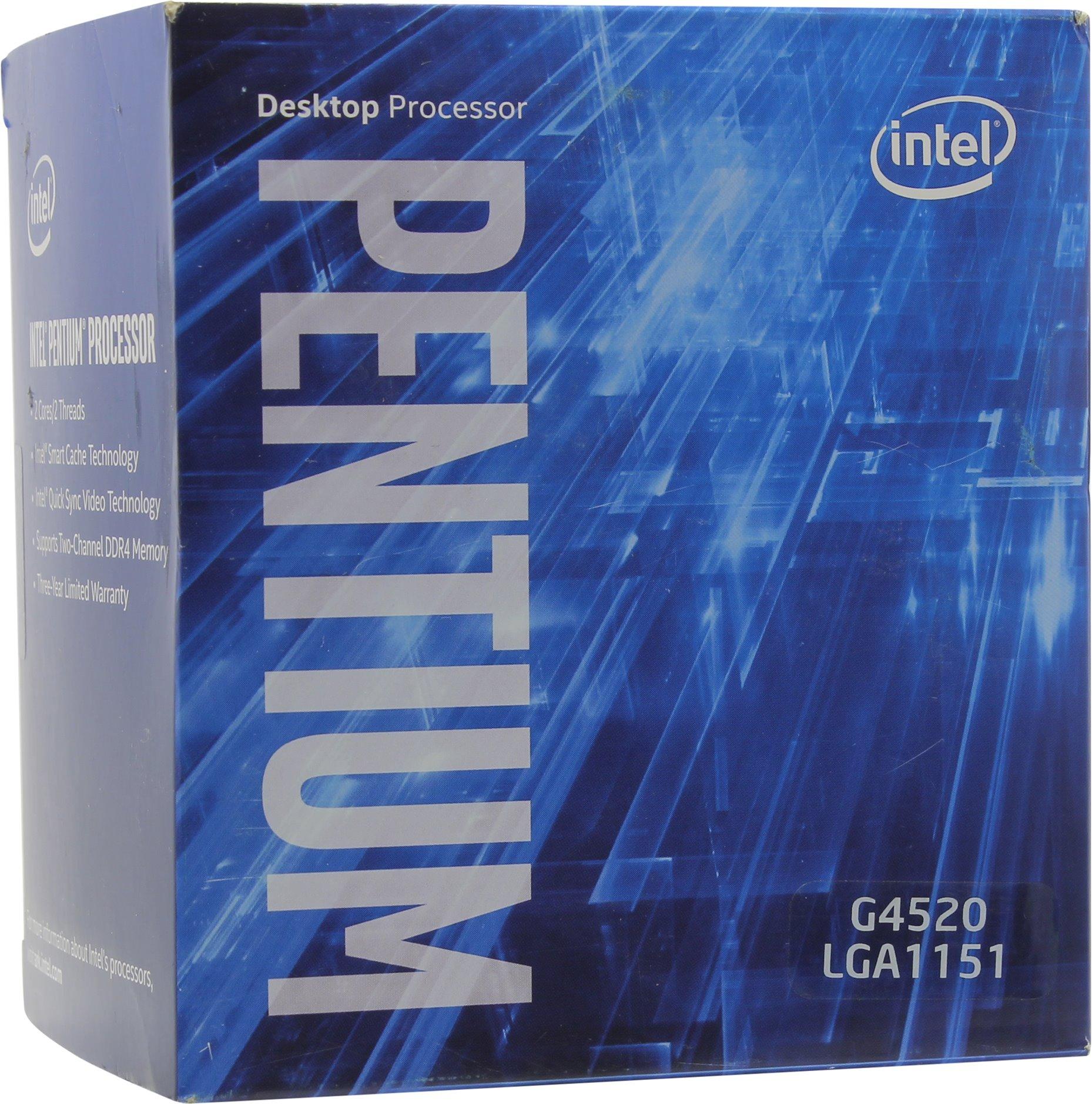 Intel Pentium G4520 (1151, Box)