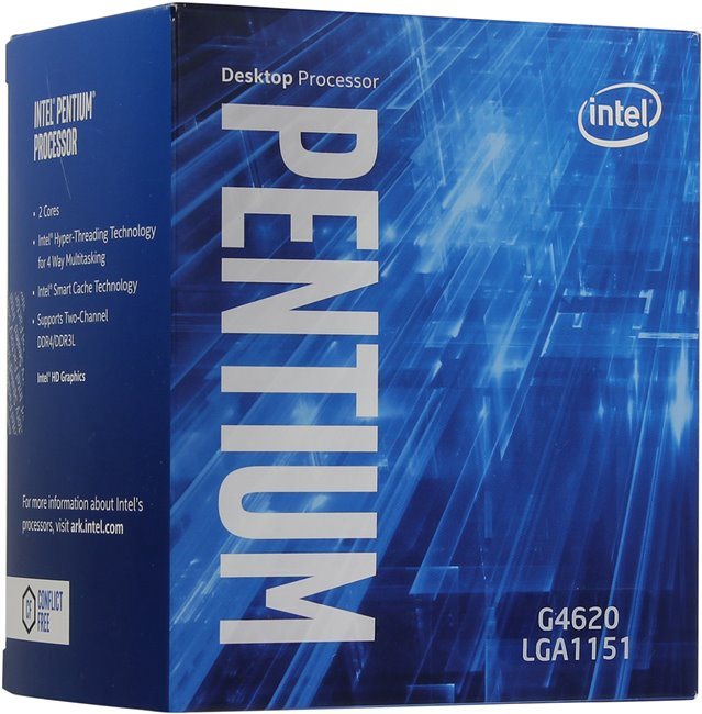 Intel Pentium G4620 (1151, Box)