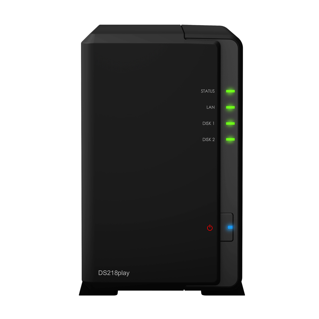 Сетевое хранилище Synology Disk Station DS218play