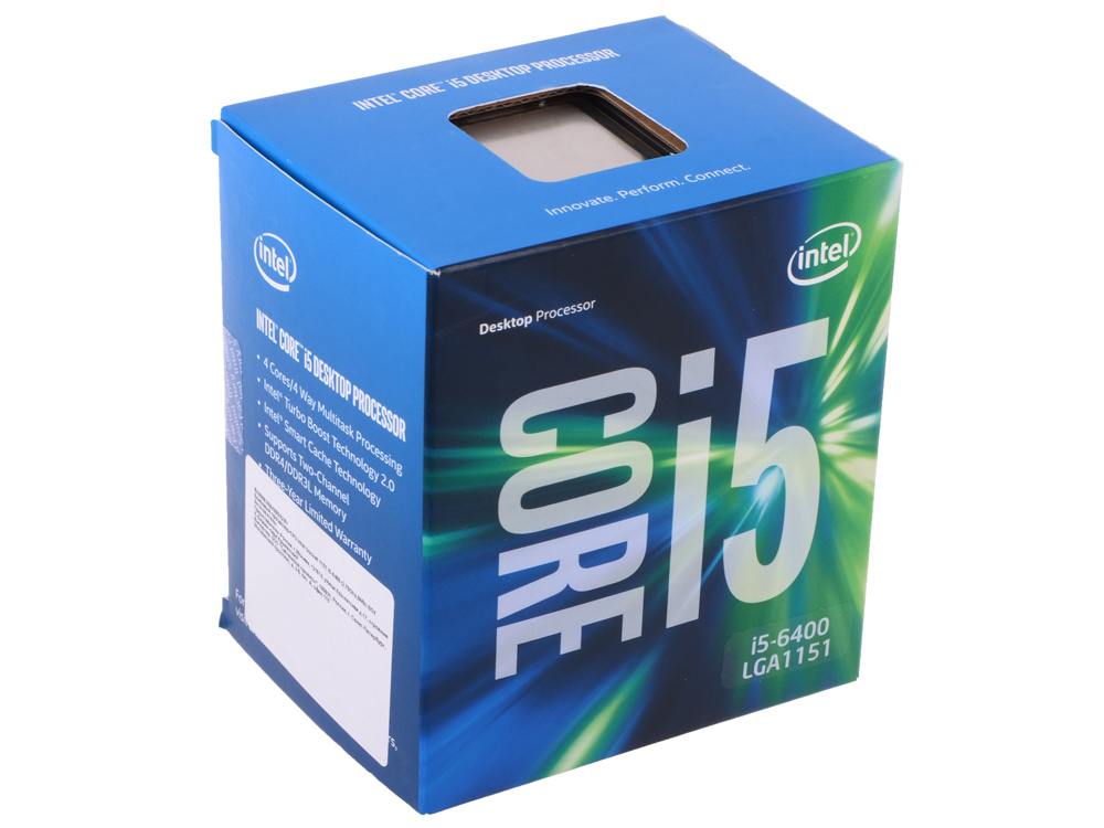 Intel Core i5-6400 (1151,Box)