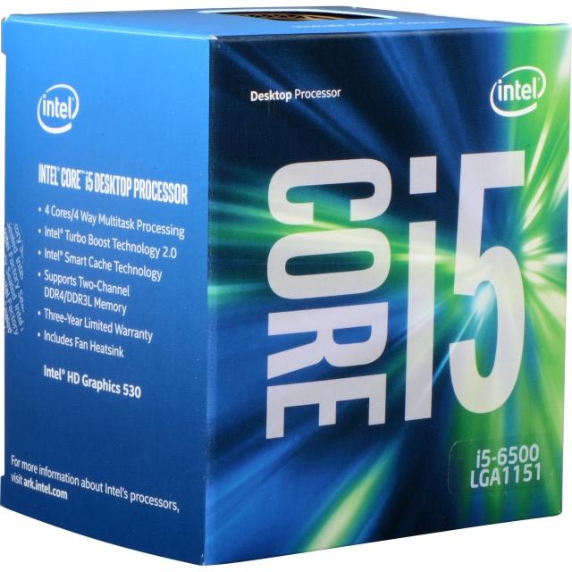 Intel i5-6500 (1151, Box)