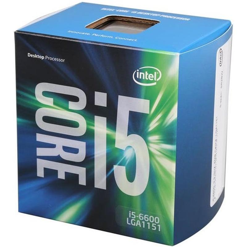 Intel Core i5-6600 (1151, Box)