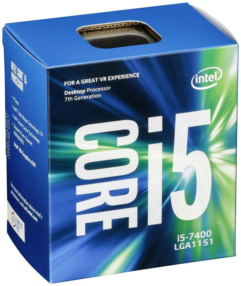 Intel Core i5-7400 (1151, Box)