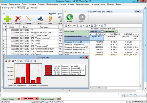 Меркурий ERP 1.0дляWindows