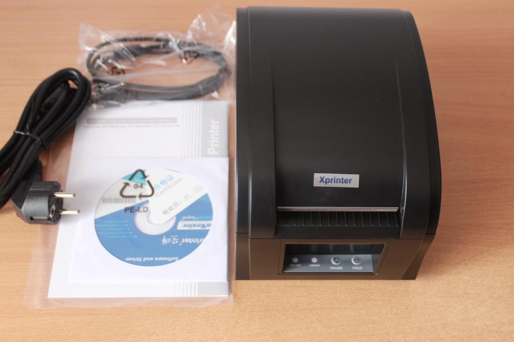 Обзор принтера этикеток Xprinter XP-360b