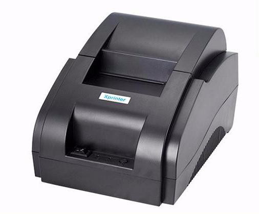 Обзор принтера чеков Xprinter XP-58IIH