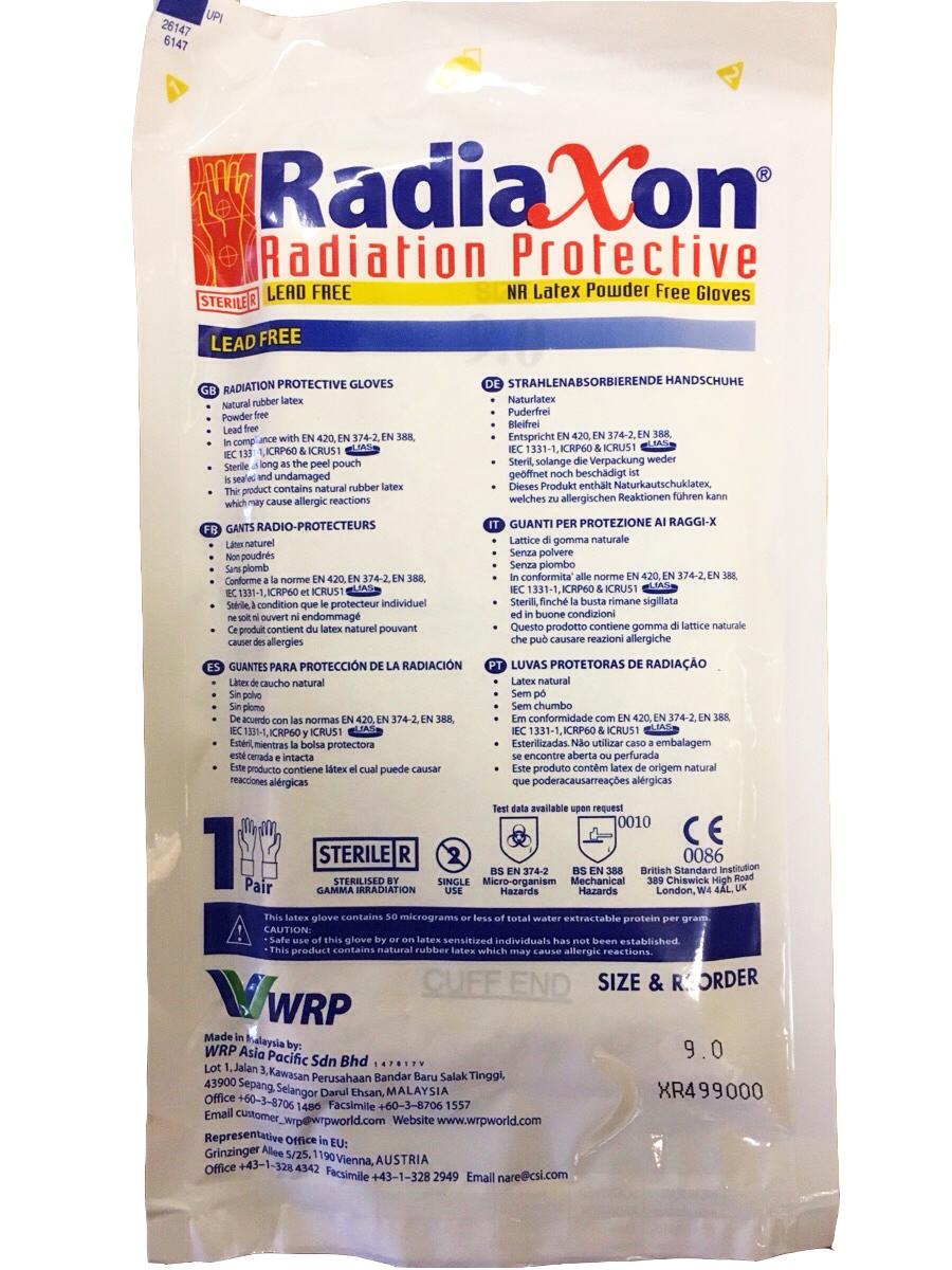 Перчатки Radiaxon хирургические для защиты от рассеянного рентгеновского излучения